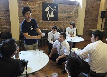 『八戸酒造で日本酒研修会が行われました。』