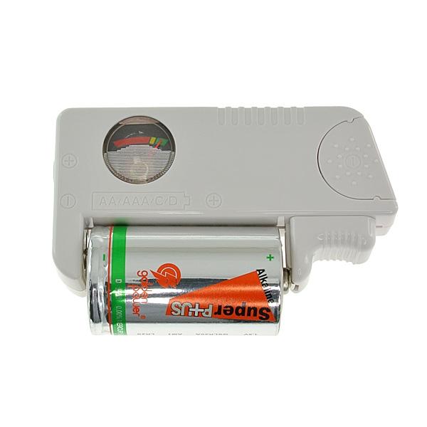 【上海問屋限定販売】あらゆる電池の残量が一目瞭然 バッテリー残量チェッカー 販売開始