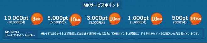 アンケートに答えて、サービスポイント&レアグッズもらっちゃおう! オンラインゲームポータルサイト「MK-STYLE」「残暑お見舞いキャンペーン」 実施のお知らせ