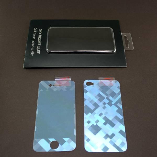 【上海問屋限定販売】iPhone4S/4 をワイルド風に護る 立体的ホログラム プロテクションフィルム 販売開始