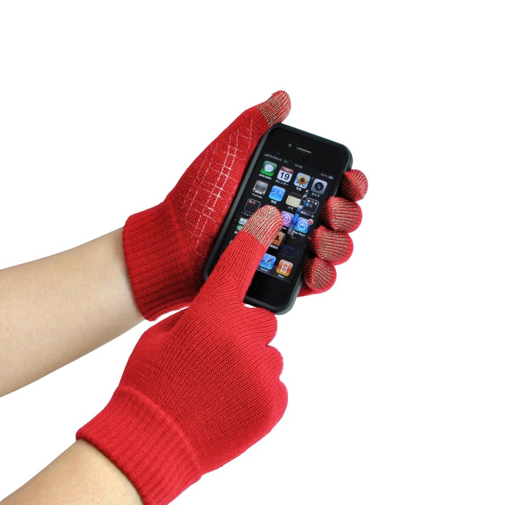 今年のスマホはすべらない! すべり止め付きスマホ手袋 『スマートタッチ®』 ミドリ安全.com にて、2012年8月より新発売 ~ 電子書籍端末やタブレットPCの操作にも便利です ~