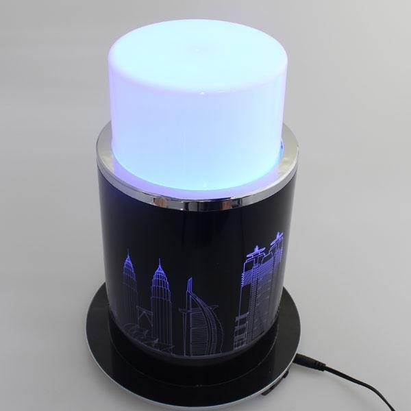 【上海問屋限定販売】電動でライトがポップアップ 7色の光が幻想的 ポップアップ式レインボーカラーインテリアライト 販売開始