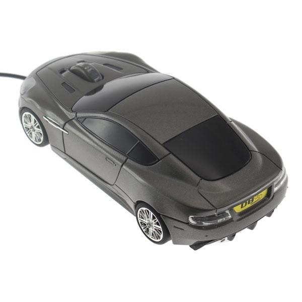 【上海問屋限定販売】イギリスの名車がマウスになった 有名なスパイ映画に登場したスポーツカー アストンマーティン型マウス 販売開始