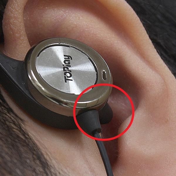 【上海問屋限定販売】耳を塞がないから歩きながらも安心イヤホン オープンフィット型イヤホン クリップタイプ 耳掛けタイプ 販売開始