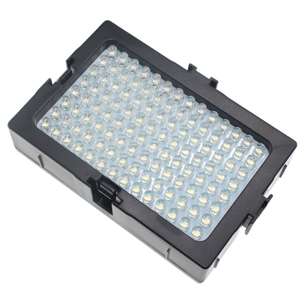 【上海問屋限定販売】 暗所での撮影に威力発揮 光量の調整も可能 調光式カメラ用LEDライト112灯 販売開始