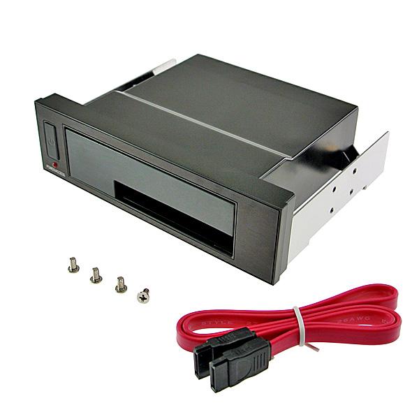 【上海問屋限定販売】 ハードディスクをDVDのように出し入れ可能 2.5/3.5 SATAハードディスクフロントマウンタ 販売開始