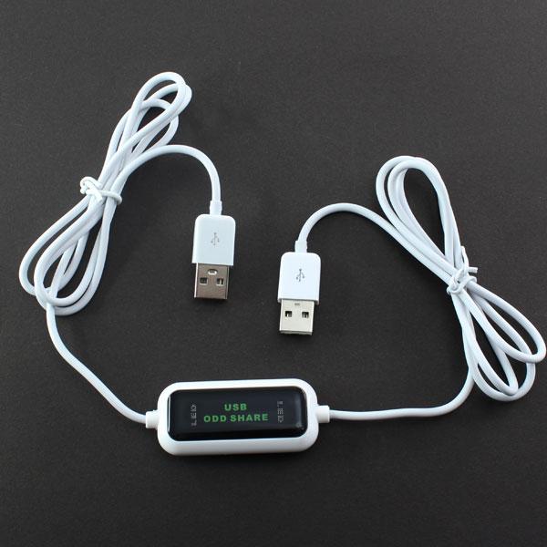 【上海問屋限定販売】 2台のマシンで1台の光学ドライブを共有可能 USB接続光学ドライブシェアリングケーブル 販売開始