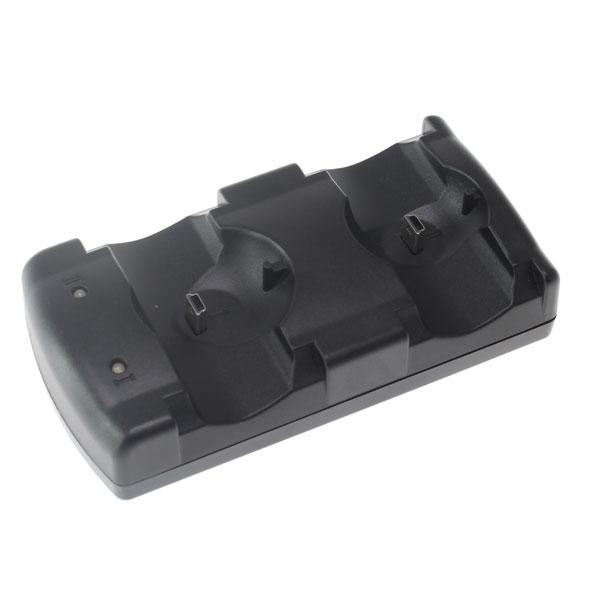 【上海問屋限定販売】 PS3のワイヤレスコントローラーが1度に2台充電可能 USB式充電スタンド 販売開始