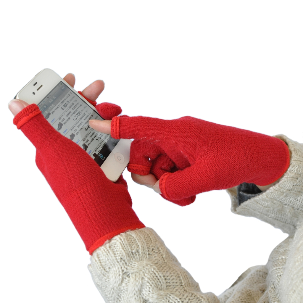 3本指で冬の作業を極める! 『あったか!!スライドタッチ手袋』 ミドリ安全.com にて、9月21日(金)新発売 ~ ランニングや釣りなど冬のアウトドアシーンでも活躍 ~