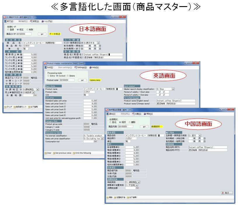 OSK ≪多言語化機能を新たに加え、多彩な報告書が簡単に作成できる『SMILE CAB Rel.4』を発売≫ ~ 統合業務パッケージSMILEシリーズ全製品がWindws8に対応 ~