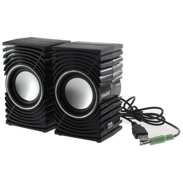 【上海問屋限定販売】 コンパクトでも重低音を意識した迫力のサウンド サブウーファーがセットされた2.1chスピーカー USB電源スピーカー 販売開始
