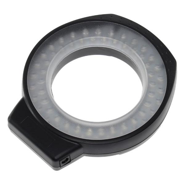 【上海問屋限定販売】 影が出来にくいから商品撮影にも最適 微妙な光のコントロールも可能 一眼カメラ用 調光機能つきLEDマクロリングライト 販売開始