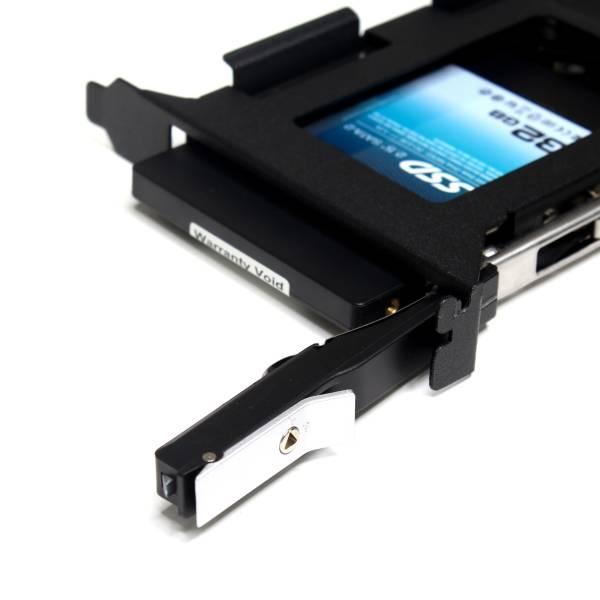 【上海問屋限定販売】パソコンの空いているスロットを有効活用 SSD/2.5インチHDD 対応 バックスロットエンクロージャー 販売開始