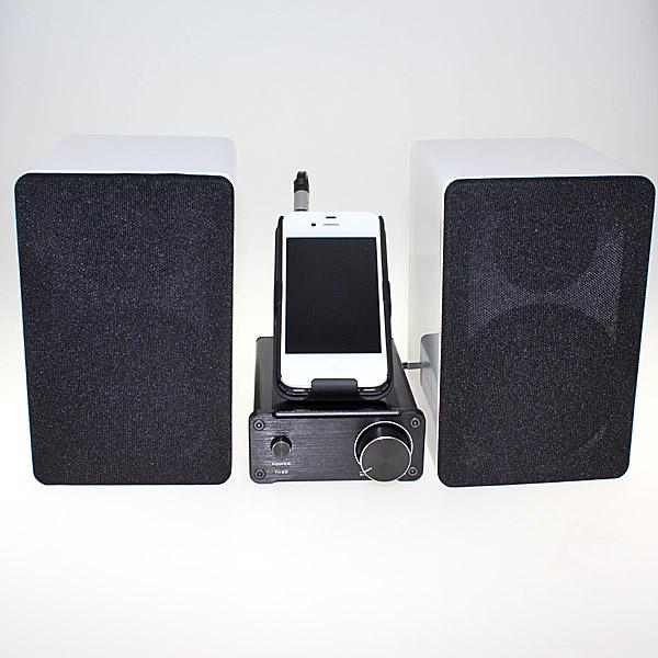 【上海問屋限定販売】シンプルな操作で良い音を楽しむコンパクトサイズ デジタル スピーカー・アンプ販売開始