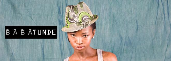 南アフリカの帽子ブランド babatundeの取り扱いを開始 - セレクトショップ Fuarah Clothing, 南アフリカで現地生産、アフリカの布の帽子Babatunde のお取り扱いの開始 -  http://www.furaha-clothing.com/category/item/brand/babatunde