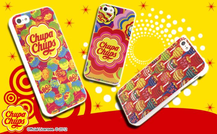 日本で一番有名なキャンディと言えば…チュッパチャプス! 30分眺めても溶けない?待望のチュッパチャプスiPhone5ケースが登場♪