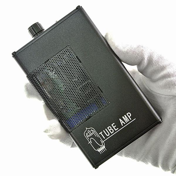 【上海問屋限定販売】 真空管特有の温かみがある音質が自慢 ポータブルサイズ真空管ヘッドフォンアンプ 販売開始