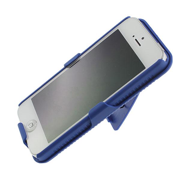 【上海問屋限定販売】iPhone5をベルトに固定し楽々歩こう スタンドにもなるベルトクリップつきハードケース販売開始