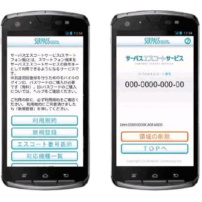 インデックスと穴吹コミュニティ、 穴吹工務店のセキュリティ案内サービス 「サーパスエスコートサービス」向けに FeliCa搭載Android(TM)アプリを共同開発
