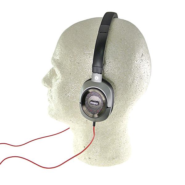 【上海問屋限定販売】柔らかいつけ心地で疲れにくいヘッドフォン セミオープン型ソフトイヤーパッドヘッドフォン 販売開始