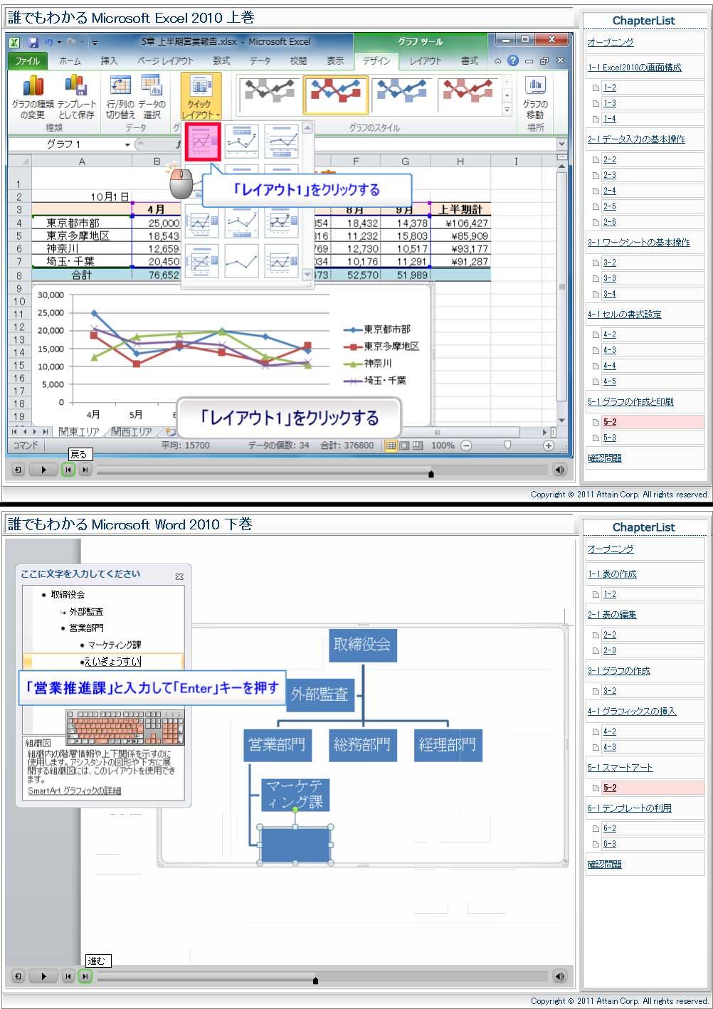 e -Learning教材(インターネット上で操作シミュレーションが可能)販売