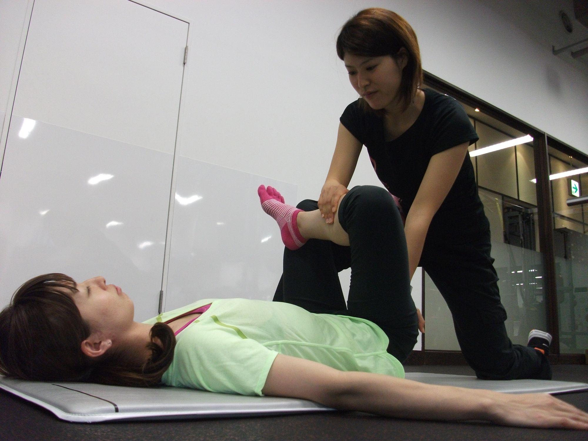 女性専用パーソナルトレーニングジム「ボディリペア青山」  女性専用ダイエットジムにパートナーストレッチ登場! ストレッチで始める春のカラダ動かし習慣