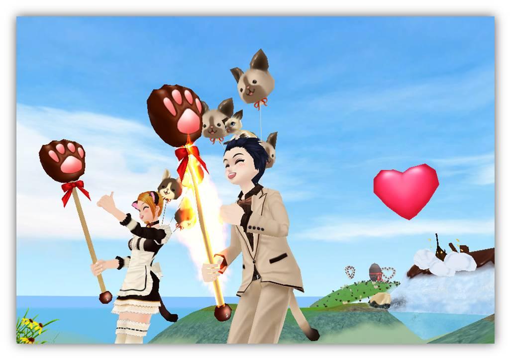 出会える、つながる、楽しめる、毎日が楽しくなる3Dコミュニティサービス 「MILU(ミル)」バレンタインイベント開始!~魔法のチョコ大作戦2週目~
