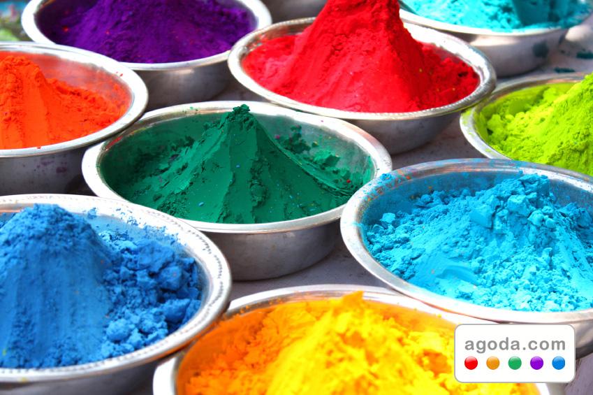 Agoda.comがインドの色彩豊かなホーリー祭に向けてホテル大特価をカラフルにご提供