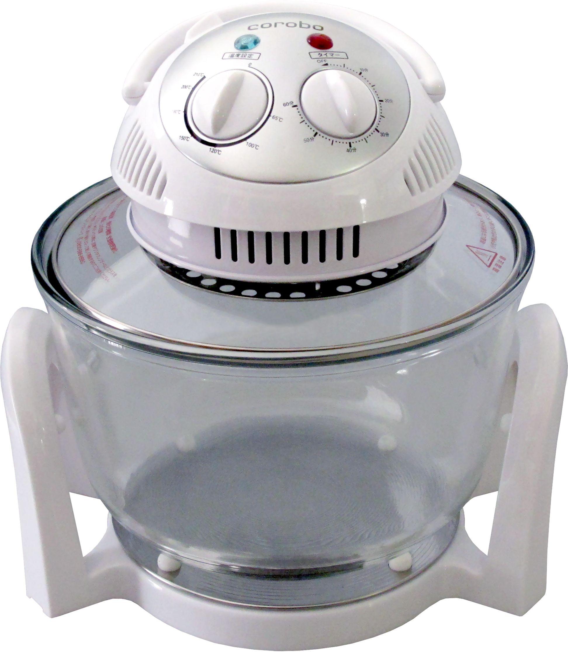 """油で揚げない""""エアーフライ調理""""が出来るオーブン カーボンコンベクションオーブン「corobo」CKY-19Q/CKY-19QO を3 月1 日に発売"""
