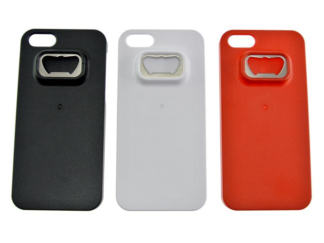 【上海問屋限定販売】 iPhone5ケースが夢のコラボ ビンをiPhoneで開ける? 栓抜きつきiPhone5ケース 販売開始