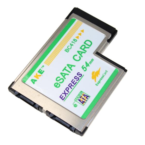【上海問屋限定販売】 ノートPCに便利を増設 ExpressCard 54 スロット用増設カード各種 販売開始