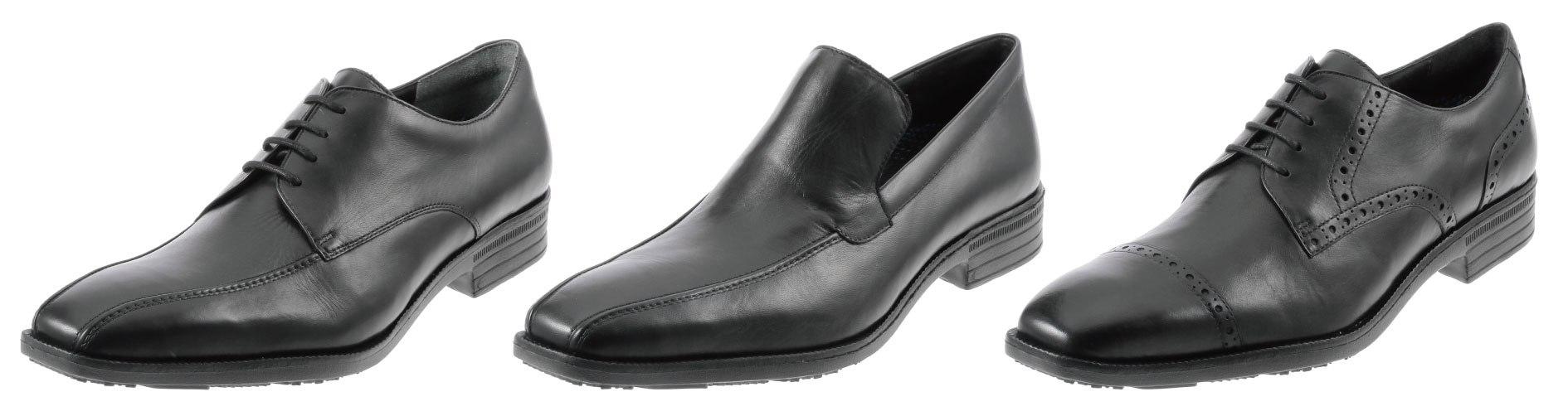 ビジネスマンに朗報、春の新生活を前に実施 履き心地にこだわった本革紳士靴を4990円で販売 「大量発注・一括納品・売り切り型」で徹底した低コスト化 2013年3月20日(水・祝)一斉販売開始