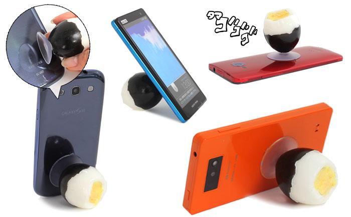 小田原&箱根の名産品がスマホスタンドとiPhone5ケースに変身!?アジの干物、梅干し、黒たまご…ご当地グルメをスマホで楽しんじゃおう♪