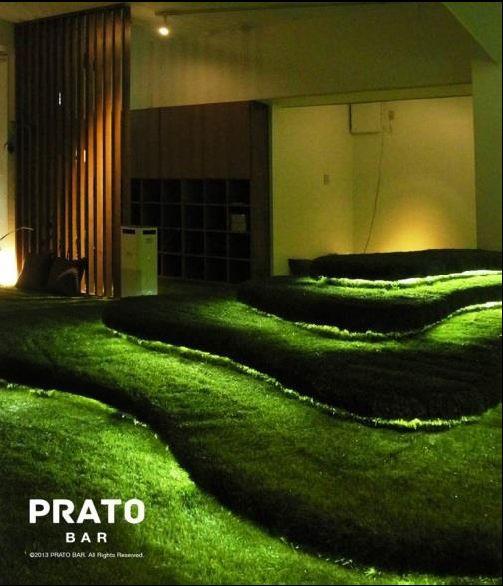 """都会のオアシス """"PRATO BAR"""" 店内に丘がある全面芝生のカフェバー、西荻窪駅前にオープン"""