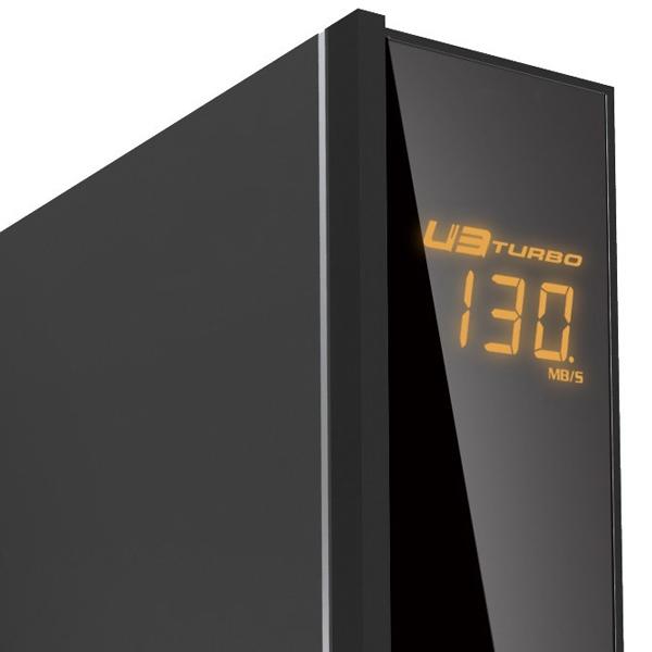 【上海問屋限定販売】Windows8対応 転送速度が見える USB3.0 3.5インチSATA接続HDD用外付けケース 販売開始