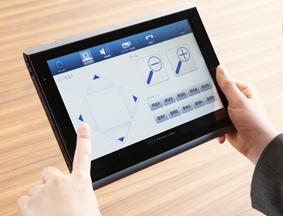 テレビ会議端末操作タブレットソフトウェア【EazyTouch】の新バージョンをリリース