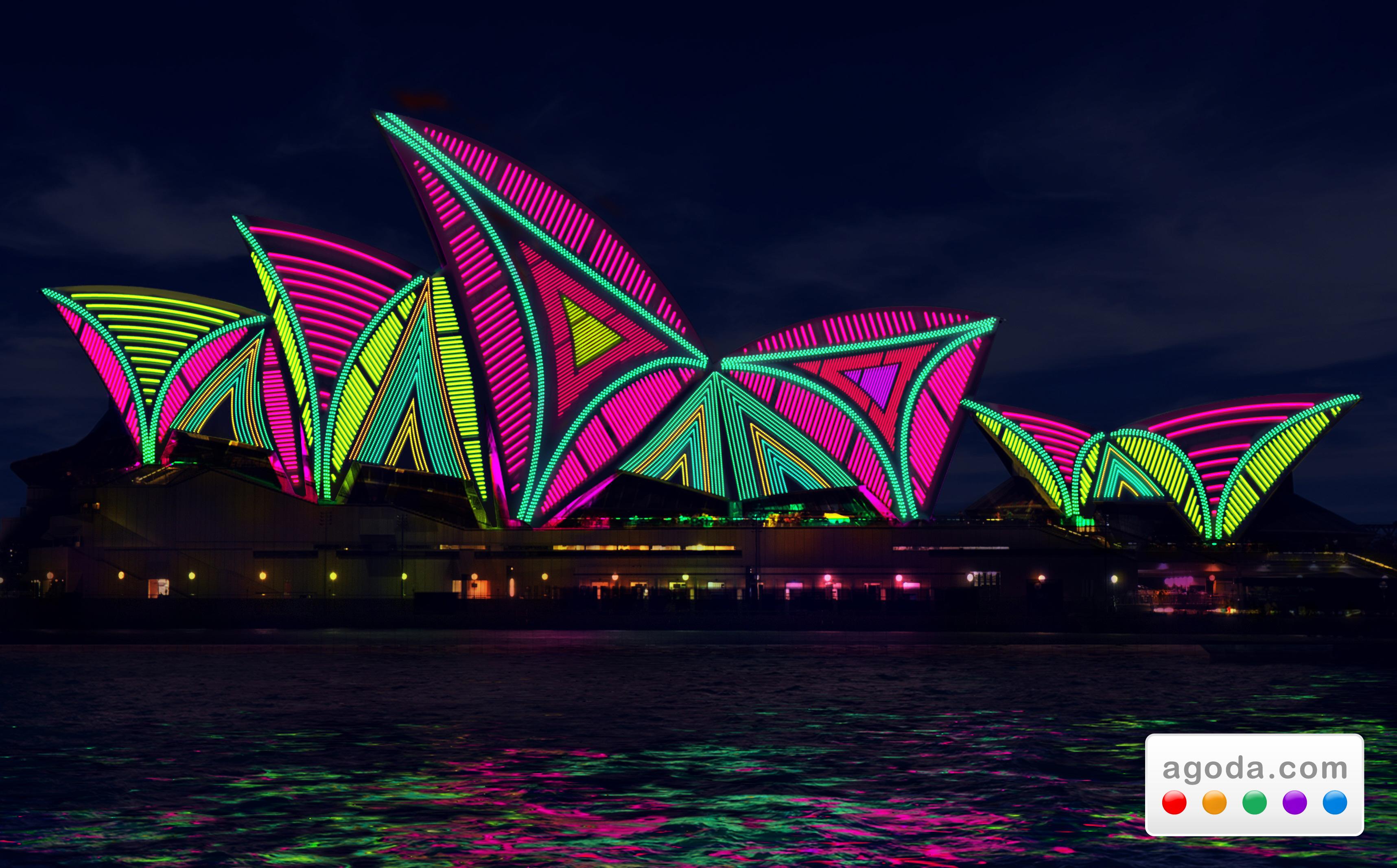Agoda.comがビビッド シドニー フェスティバルに合わせてホテル大特価料金をスポットライトで彩る!