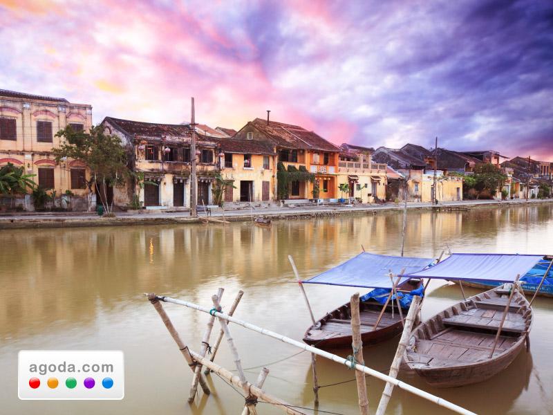 Agoda.comがベトナムの美しい古都ホイアンのホテルを特別料金でご提供