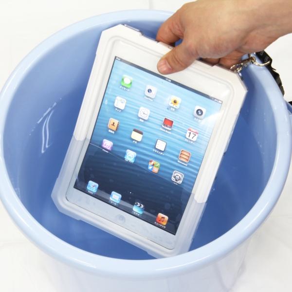 【上海問屋限定販売】お風呂やアウトドアで大活躍 iPad miniを水やホコリから護るかっこいいケース 販売開始