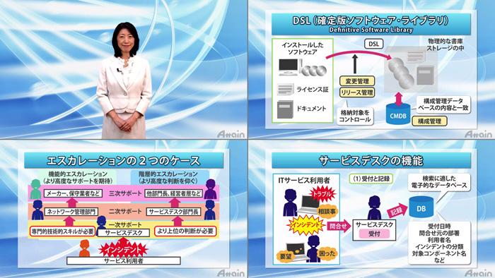 eラーニング「ITサービス・マネジメント入門」上下巻を動学.tvに公開