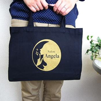 ノベルティグッズ名入れ制作事例のご紹介 「大阪のネイルスクールが制作したオリジナルバッグ」
