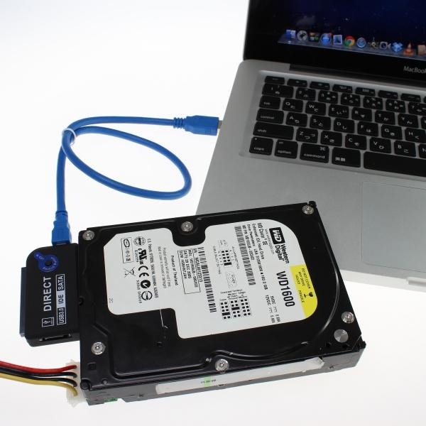 【上海問屋限定販売】簡単にHDDやSSDを外付けできるUSB3.0接続 オールコネクトアダプター 販売開始