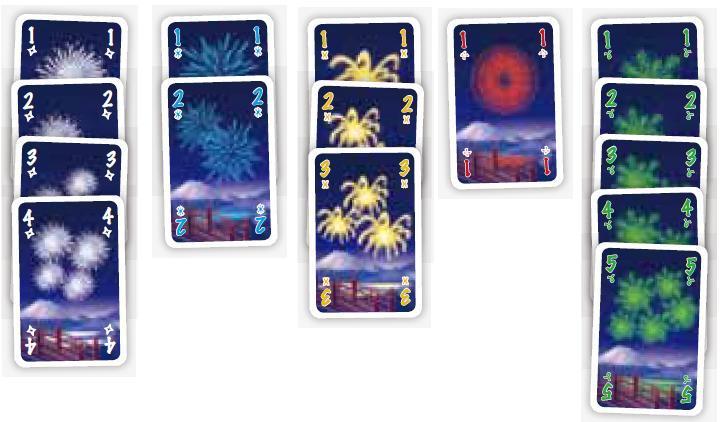 ドイツ年間ゲーム大賞2013受賞! 多人数協力型カードゲーム 『HANABI(花火)』多言語版 発売中