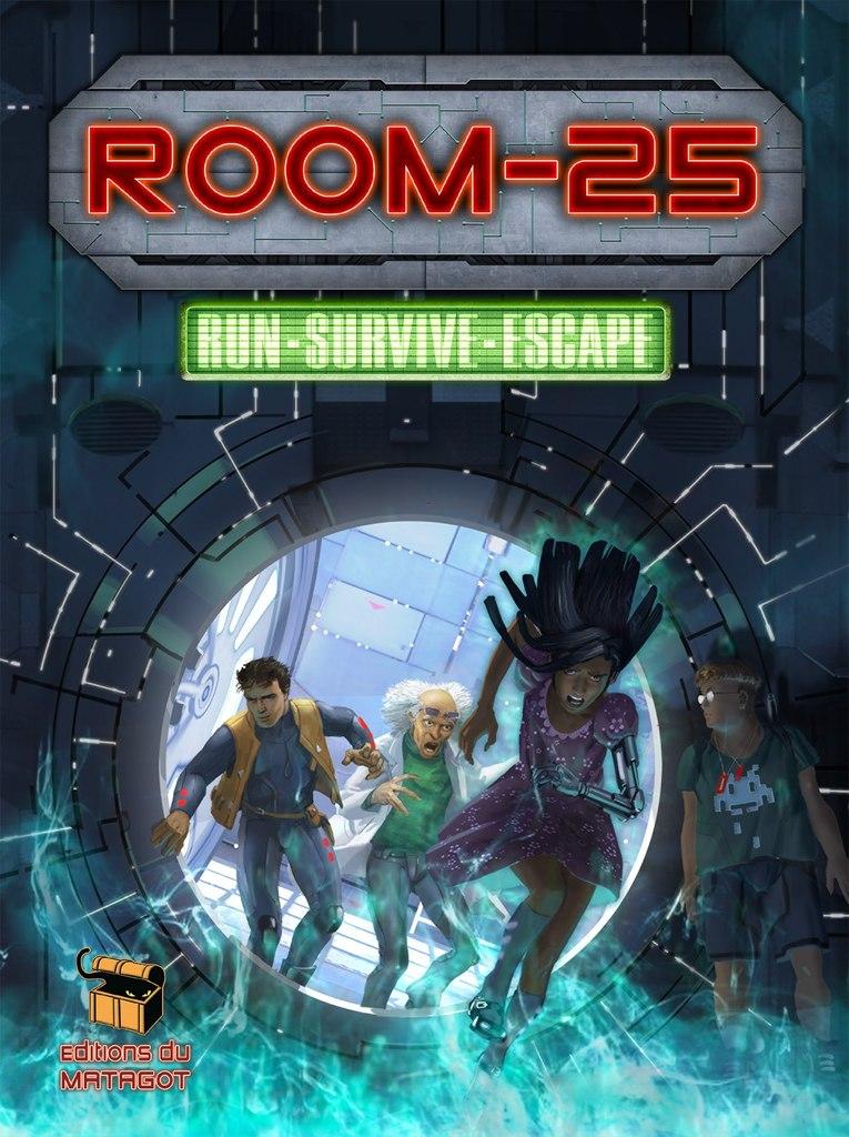 誰が味方かわからない。罠だらけの密室からの命がけの脱出ゲーム! シンプルなルールの協力型脱出ゲーム 『ルーム25(Room-25)』多言語版 8月中旬発売予定