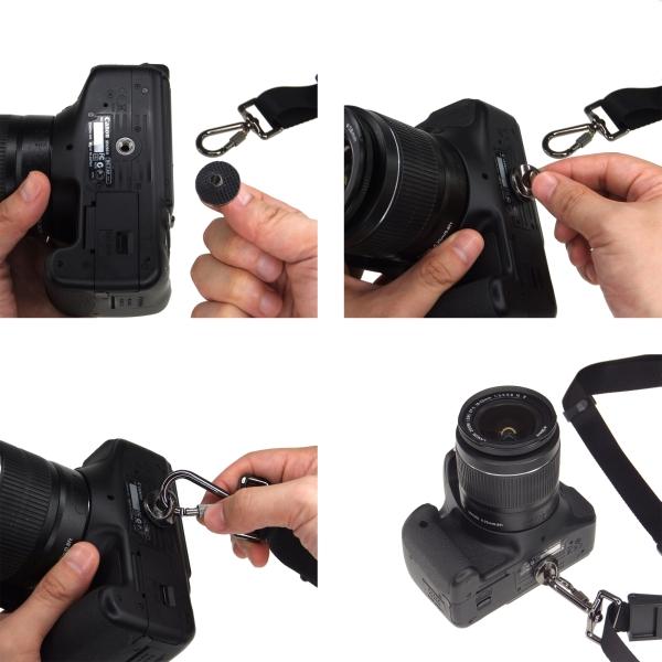 【上海問屋限定販売】一眼レフカメラ 身体に負担を少なく持ち運びながらシャッターチャンスを逃さない たすき掛け可能 一眼カメラ用クイックストラップ販売開始