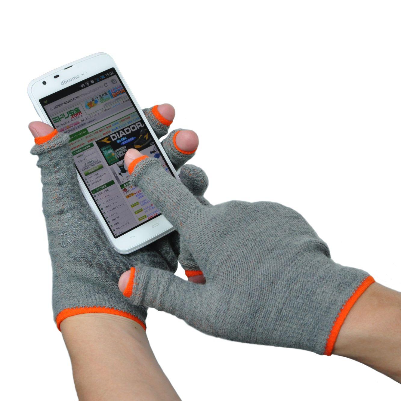 ワンコインで今年もあったか 物流業界でも好評、滑り止め付きスマホ手袋 第2弾 「あったかスライドタッチ手袋Ⅱ」 2013年8月21日より新発売