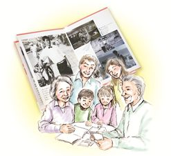 誰しもがもつストーリーを形にし、大切な想いを伝え、遺す。「心の終活」 を考えた、新しい自分史作成サービス 【メモリアルブックきずな】 2013年8月より提供開始