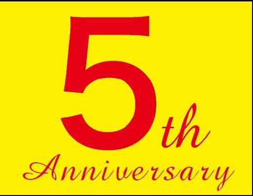 トレジャーファクトリースタイル高円寺店 5周年記念 店内全品5%OFFセール開催!