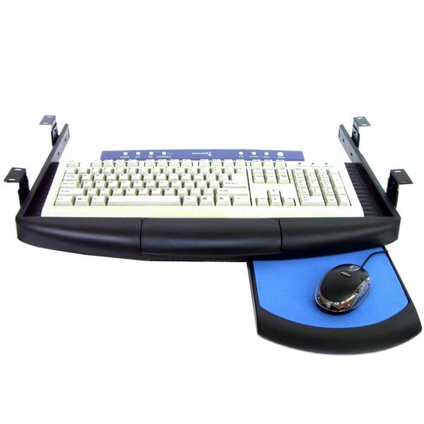 【上海問屋限定販売】 今使っているデスクをPCデスクにしよう デスク取り付け型スライド式キーボードトレー 販売開始