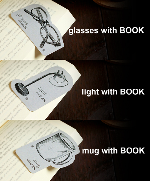 本をもっと楽しくする、オリジナルデザイン「ブックマーク」を発売しました!